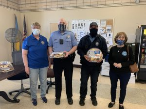 FOP Lodge 5 Auxiliary Thank An Officer Day